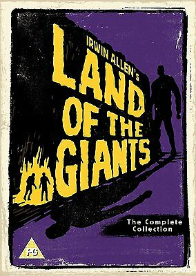 Land of the Giants - Complete Series (Season) 1 & 2 Collection Box Set   New DVD