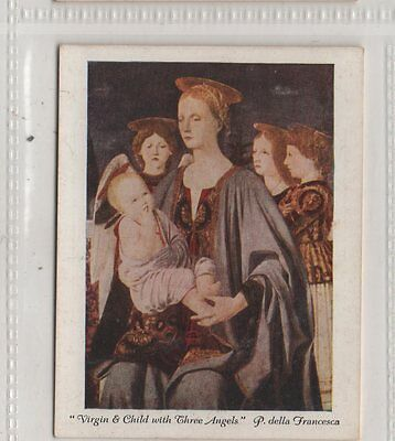 #10 Virgin And Child With Three Angels - Italian Art Exhibition 1930 2nd Card