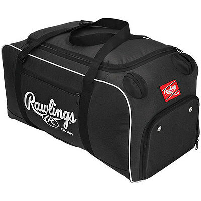 Rawlings Covert Player Duffle Bag, Black