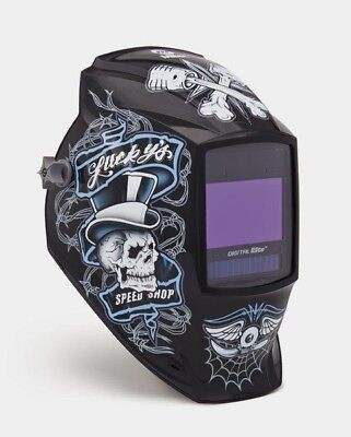 Miller Genuine Digital Elite Lucky's Speed Shop Welding Helmet - 257214