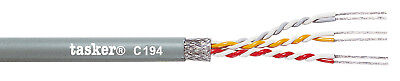 Tasker C194 Shielded data cable 3x2x0,22 mm² 100 m