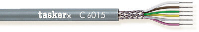 Tasker C6015 Multicore shielded cable 6x0,15 mm² for data transmission 100 m