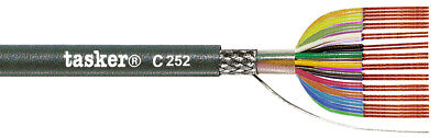 Tasker C252 Braided shielded LiYCY cable 24x0,14 mm² 100 m
