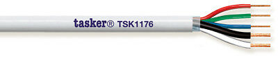 Tasker TSK 1176 Multi-Conductor cable PVC, RGB, 3x0,35 mm² + 2x0,50 mm² 100 m
