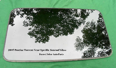 2007 Pontiac Torrent Factory Year Specific Sunroof Glass Oem  Free Shipping!