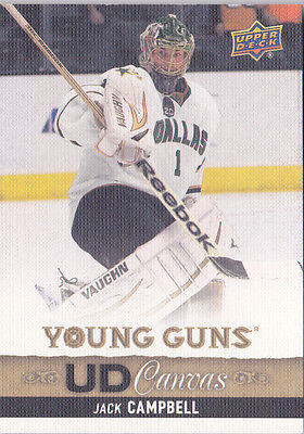 13-14 Upper Deck Jack Campbell UD Canvas Young Guns Rookie Stars 2013
