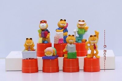 Lot of Garfield Mini Figure 7-pcs set #102GK