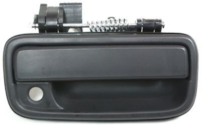 Front Passenger Side Black Exterior Door Handle for 1995-2004 Toyota Tacoma