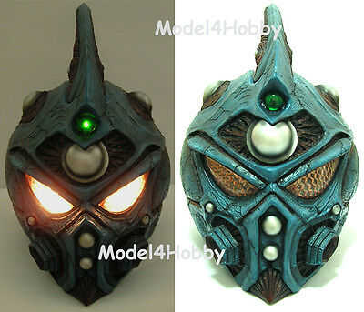 Lighted up!! GUYVER 1/1 Scale Helmet(Mask) Action TV Hero Cosplay Props !!