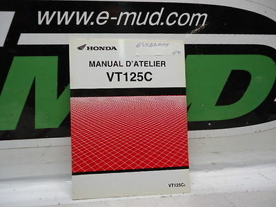 Supplement Additif Manuel Atelier Honda 125 Vt C4 63Kgb00Y