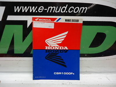 Supplement Manuel Atelier Honda 1000 Cbr Fs 1995 63Mz200Z