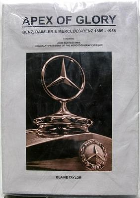 APEX OF GLORY THE HISTORY OF MERCEDES BENZ 1885-1955 Taylor ISBN:9781905142064