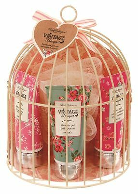 Body Collection Vintage Bouquet Half Birdcage Gift Set