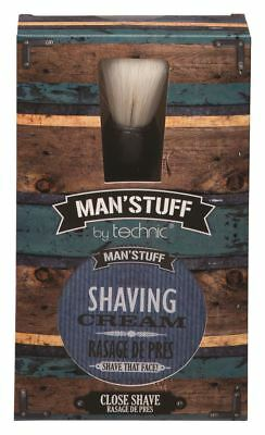 Technic Man'Stuff Close Shave Gift Set, Great Stocking Filler For Him