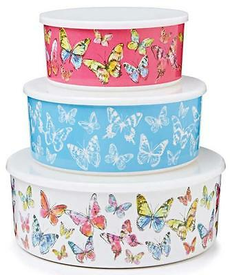 Butterfly Melamine Plastic Kitchen Cupcake Cup Cake Cookie Biscuit Storage