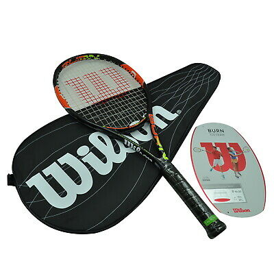 Wilson Tennis Racquet - Burn 100 Team - 267G Light And Explosive Tennis Racket