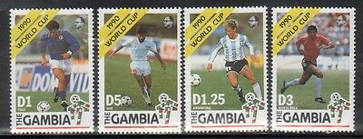 Gambia 1018-21 Soccer Mint NH