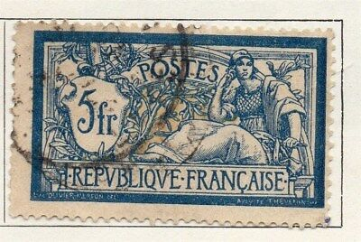 France 1900 Early Issue Fine Used 5F. 092568