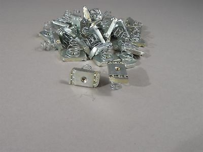 "Lot of 80 Channel Nut 1/4"" with Spring"