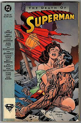 The Death of Superman TPB Dooms Day 1st Print
