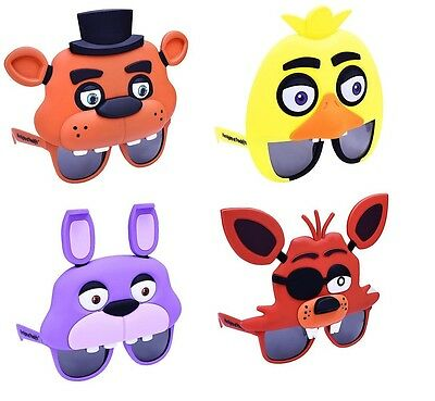 Five Nights at Freddy's Character Shades Sun-Staches Horror Video Game fnt