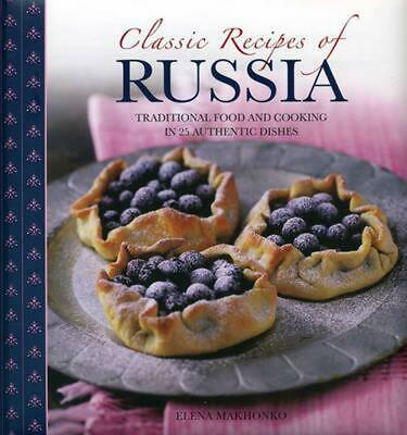 Classic Recipes of Russia by Elena Makhonko (English) Paperback Book Free Shippi