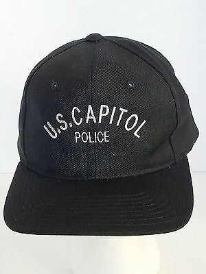 US Capitol Police Black Ball Cap Hat