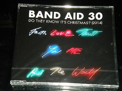 Band Aid 30 - Do They Know It's Christmas? (2014)  - CD Single - NEW & SEALED