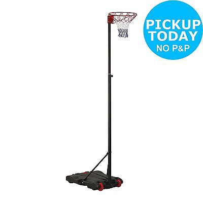 Adjustable Full Size Netball System - 236-305cm -From the Argos Shop on ebay