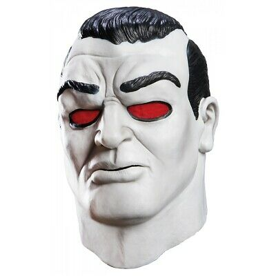 Deluxe Latex Bloodshot Mask Costume Accessory Adult Valiant Halloween