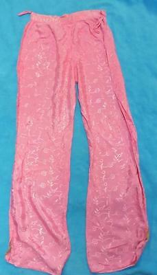 W28 Size 8 or 10 ladies indian or Pakistani pink Salwaar trousers hardly worn S