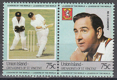 St,Vincent/Grenadinen-Union Island / cricket - M.C. Cowdrey