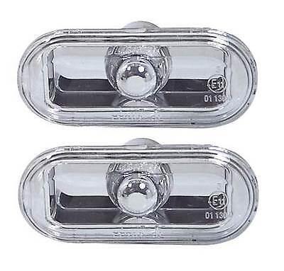 Vw Polo Mk4 1999-2005 Crystal Clear Side Repeaters 1 Pair