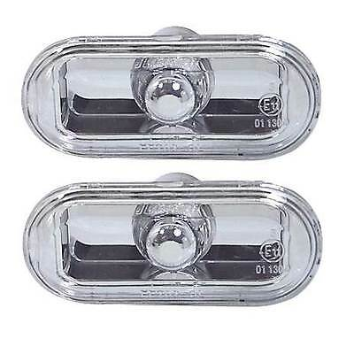 Vw Lupo 1999-2005 Crystal Clear Side Repeaters 1 Pair