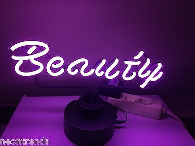 BEAUTY Neon sign Neonleuchte Gifts signs Leuchtreklame Neonreklame news