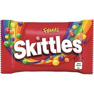 Skittles Fruits Flavour  Sweets Wholesale Discount Favours Treats Party Candy