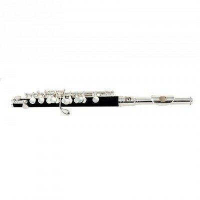 Soundsation sfp-10 flauto piccolo silver black