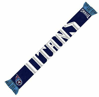Tennessee Titans Scarf NFL Football Team Logo Font Scarf,New