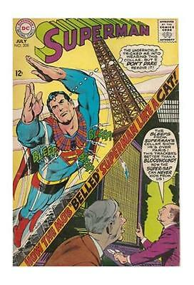 SUPERMAN 208  VF+ (8.5) The CASE of the COLLARD CRIME-FIGHTER (FREE SHIPPING) *