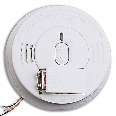 KIDDE i12060 Ionization AC Hardwired Smoke Alarm