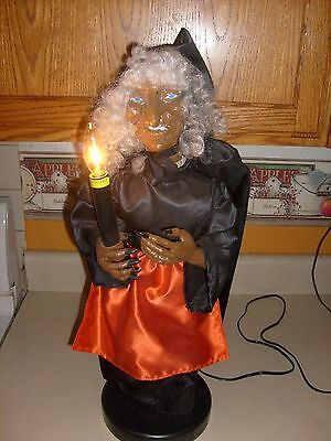 Rare Topstone WITCH Works Halloween Telco motionette animated prop