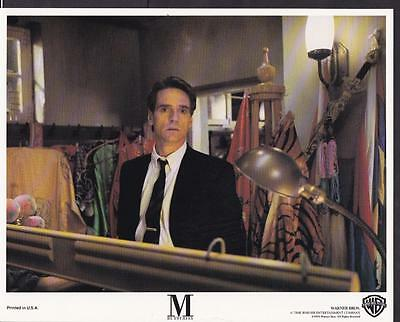 Jeremy Irons M. Butterfly 1993 original movie photo 27022