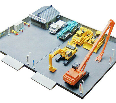 Tomytec (Building 078) Construction Vehicle Rental Shop B 1/150 N scale