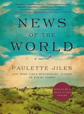 News of the World: A Novel by Paulette Jiles (English) Hardcover Book