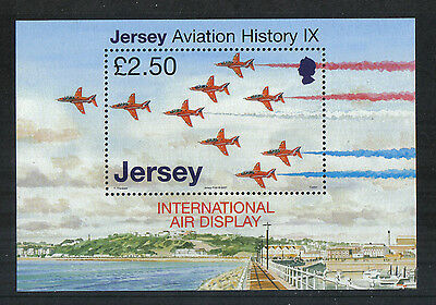 Jersey 2007 Historic Airplanes ss--Attractive Transportation Topical (1287) MNH