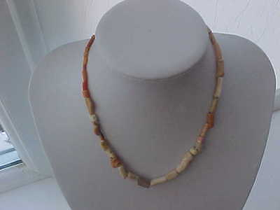 String of Roman coral beads circa 100-400 AD