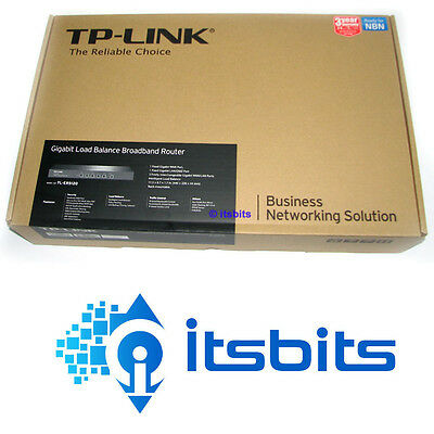"Tp-Link Tl-Er5120 Load Balanced Gigabit Router 19"" 1U Rack Mounted With Kit"