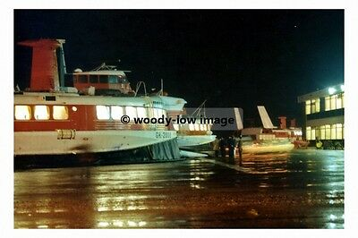 rp17115 - Ramsgate Hoverport at night - photo 6x4