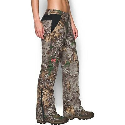 Under Armour Women's Siberian Pants Realtree Xtra ColdGear Infrared 1292559-946