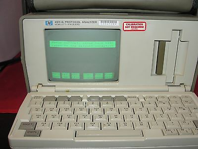 HP 4951A Protocol Analyzer  Option 001